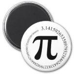 Pi (π) Day Fridge Magnet