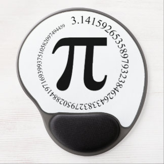 Pi π Day Gel Mouse Pad