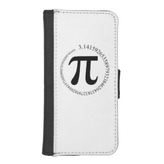 Pi (π) Day iPhone SE/5/5s Wallet Case