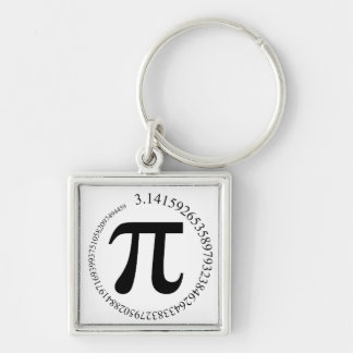 Pi (π) Day Keychain