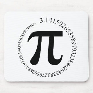 Pi (π) Day Mouse Pad