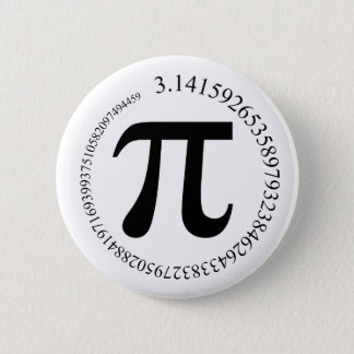 Pi (π) Day Pinback Button