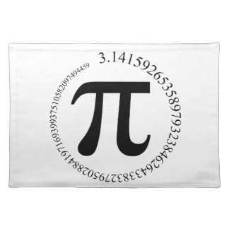 Pi (π) Day Placemat