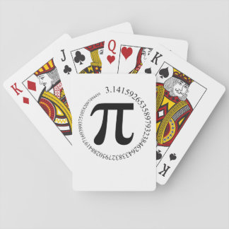 Pi (π) Day Playing Cards