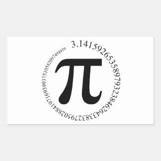 Pi (π) Day Rectangular Sticker