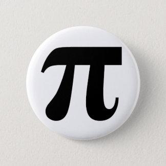 Pi π Value of Pi 3.14159 Mathematical Constant Big Pinback Button