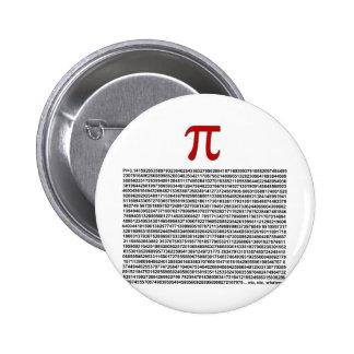 Pi = 3.141592653589 etc etc... whatever! pinback button
