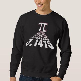 Pi, 3,141592653 sudadera