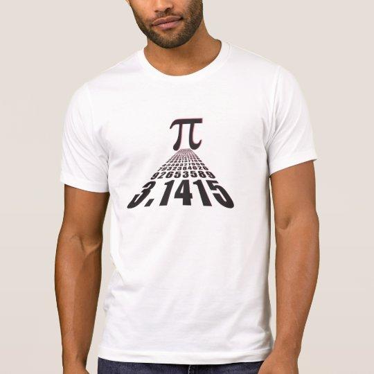 Pi, 3.141592653 T-Shirt