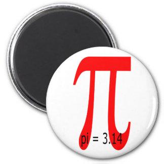 pi = 3,14159265 magnet