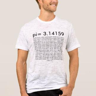 pi= 3.14159 Math Science Fashion pi Day Digits T-Shirt
