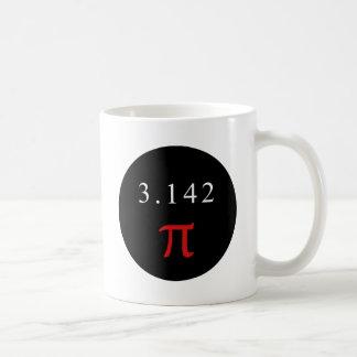 Pi 3.142 coffee mug