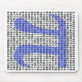 Pi 3,14 a ciento de dígitos mousepad