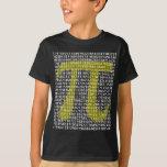 Pi 3,14 a ciento de dígitos remera