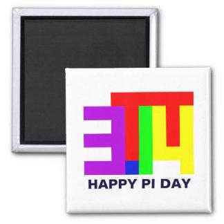 Pi = 3,14 imanes