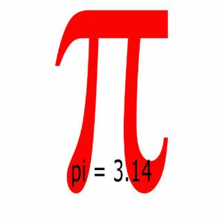 Pi = 3.14, Pi sign Statuette