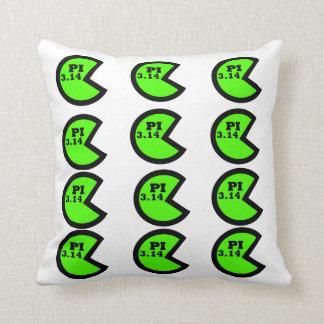 Pi (3.14) Pie Chart Throw Pillow