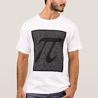 """Pi"" - 5000 Digits Number Art! CLOTHING! T-Shirt"
