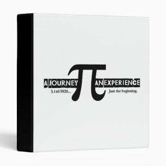 Pi: A Journey. An Experience Binder