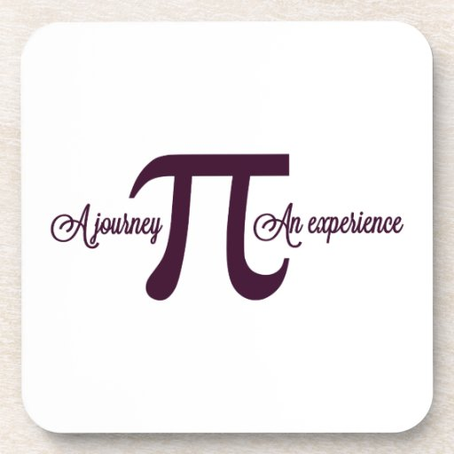Pi: A Journey. An Experience Drink Coaster