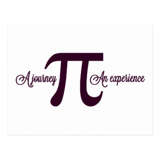 Pi: A Journey. An Experience Postcard