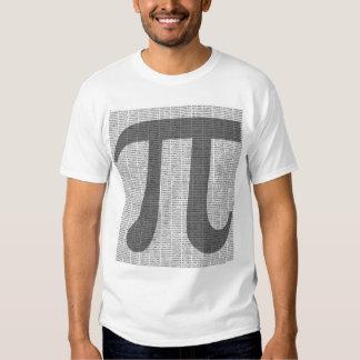 Pi a la camiseta de 10.000 decimales playera