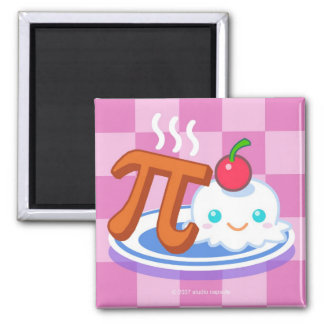 PI Ala Mode 2 Inch Square Magnet