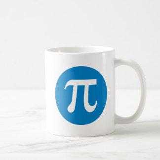 Pi and Circle Classic White Coffee Mug