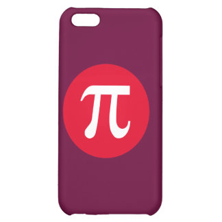 Pi and Circle Cover For iPhone 5C