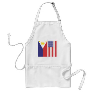 PI and US Flags Apron