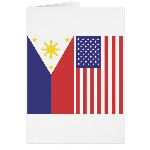 PI and US Flags Greeting Card