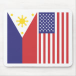PI and US Flags Mouse Pad