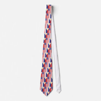 PI and US Flags Tie