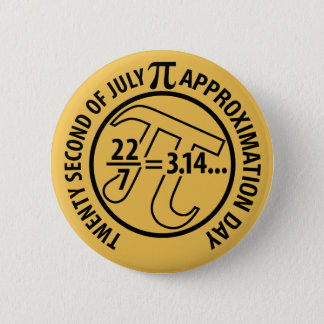 Pi Approximation Day Button