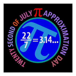 Pi Approximation Day Poster