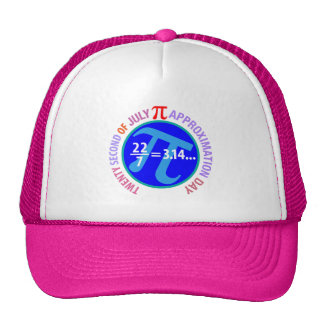 Pi Approximation Day Trucker Hat
