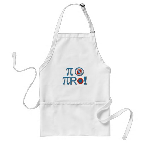 Pi Are Not Square! Adult Apron