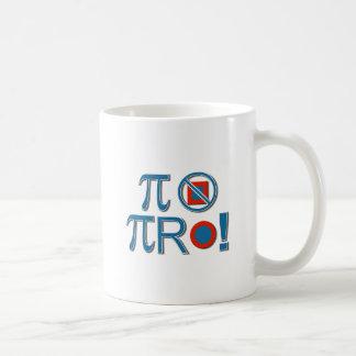 Pi Are Not Square! Coffee Mug