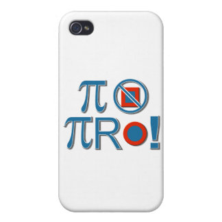 Pi Are Not Square! iPhone 4/4S Covers