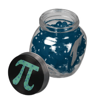 Pi Are Round Glass Candy Jars