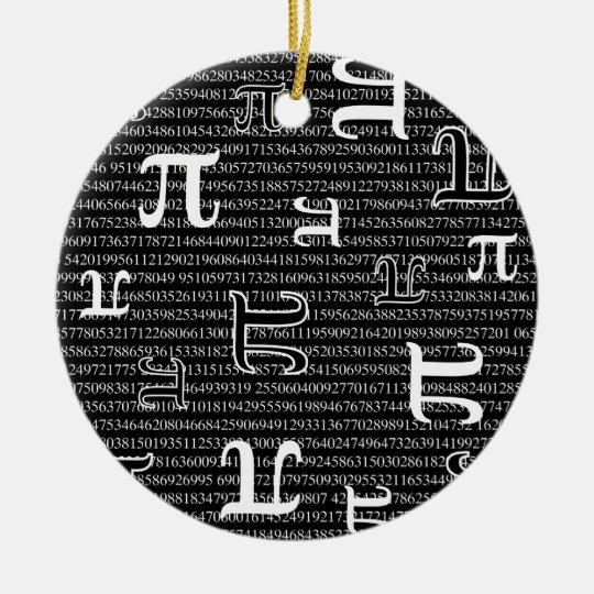 Pi are Square Ceramic Ornament
