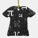 Pi are Square Christmas Tree Ornaments