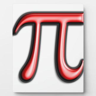 pi are square plaque
