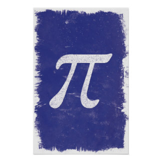 Pi Art - Math Posters