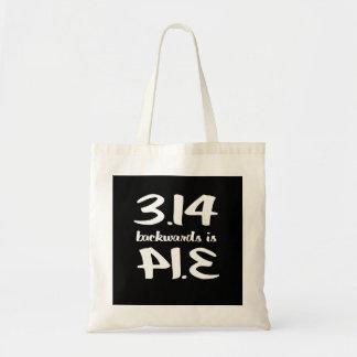 Pi Backwards is Pie Budget Tote Bag