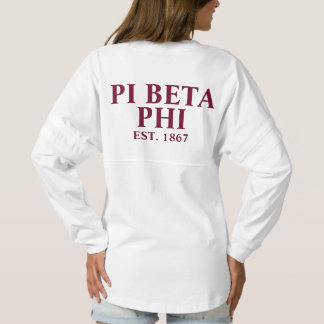 Pi Beta Phi Maroon Letters