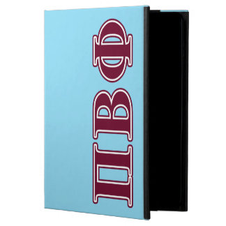 Pi Beta Phi Maroon Letters iPad Air Cover