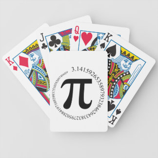 Pi Bicycle Playing Cards