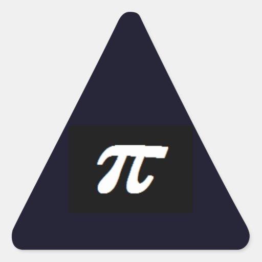 pi black triangle stickers cricketdiane design art