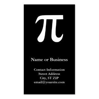 Pi Business Cards
